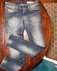 Diesel Getlegg slim skinny low waist 26 L 30 jeans